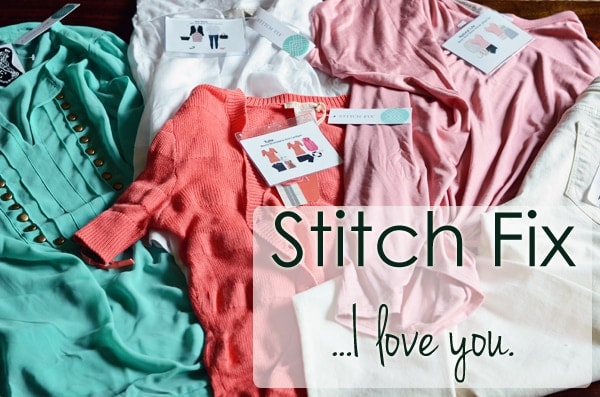 Stitch Fix ~ Sends you the CUTEST clothes every month, picked just for you!  Keep what you love, send back what you don't.  It's awesome... been a customer for a couple years!