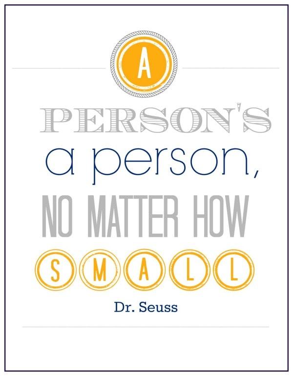 A person's a person quote