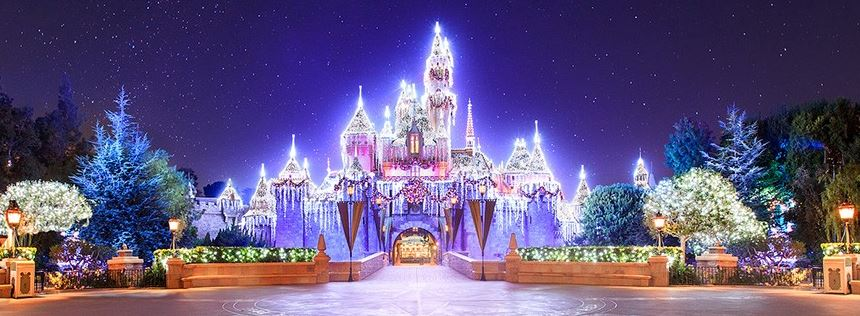 HolidayCastleCopyrightDisney