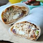 Mediterranean Tuna Wrap (she: Cathy)