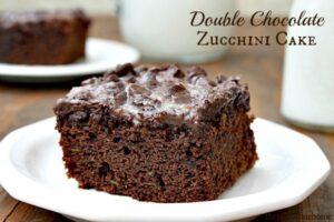 Double Chocolate Zucchini Cake (she: Tanna)