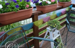 colorful tulle circle banner_createandbabble