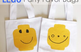 Lego Party Favor Bags (she: Jessica)