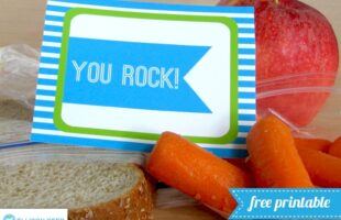 Free Printable Lunch Box Notes (she: Melissa)