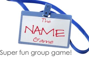 The Name Game ~ A Fun Group Game! (& Our Bear Lake Vacation)