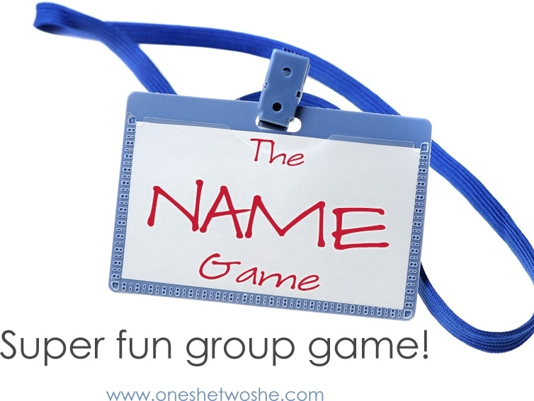 group game idea