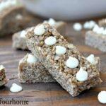 snickerdoodle granola bars
