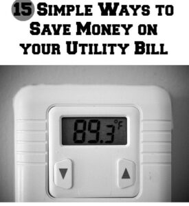 15 Easy Ways to Save Money on Your Utility Bill (she: Kristina)