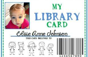 DIY Library Card