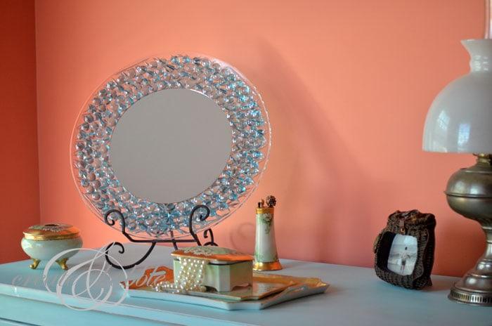 Dresser Mirror Tutorial So Simple She Jeanie Or So