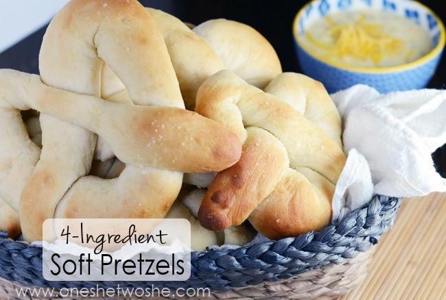 Soft Pretzels www.oneshetwoshe.com