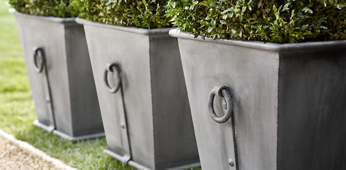 Faux Zinc Planter Boxes For A Dollar She Jeanie Or