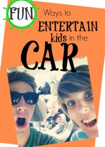Fun Games for Entertaining Kids in the Car (she: Kristina)