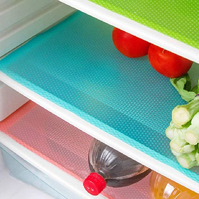 fridge cleaning mats