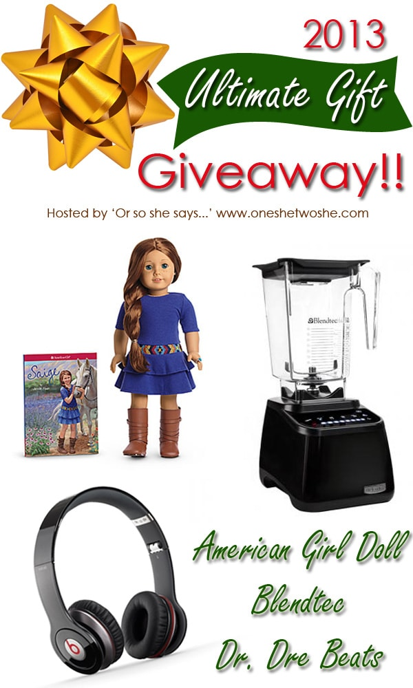 Ultimate Gift Giveaway 2013