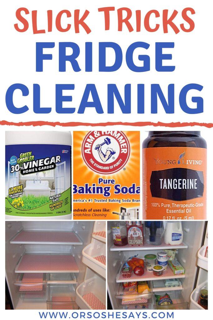 fridge cleaning tricks