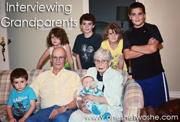 interviewing grandparents www.oneshetwoshe.com