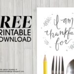 Free Thanksgiving Table Activity Printables (she: Sharon)