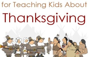 teaching kids about thanksgiving