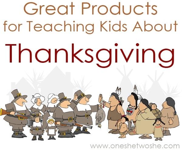teaching kids about thanksgiving