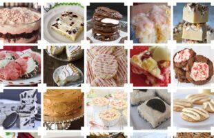 25 Christmas Desserts www.oneshetwoshe.com