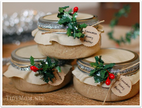 Honey Butter Gift ~ Gift Idea for Neighbors