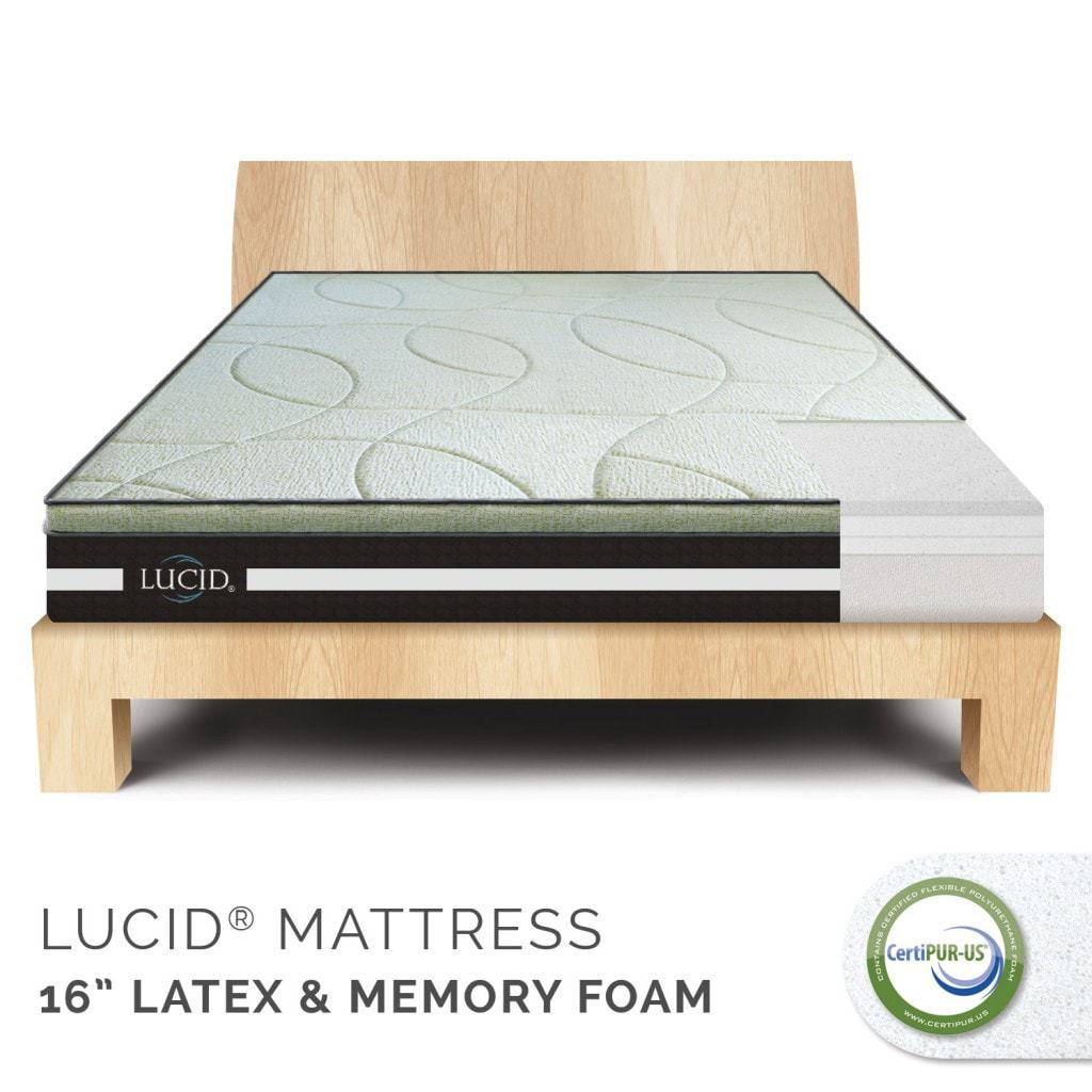 Linenspa Shopping Discount & Lucid Mattress Giveaway