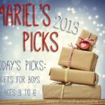 Gifts for Boys Ages 3 – 6 ~ Mariel's Picks 2013