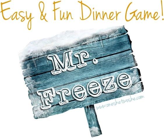 dinner game idea