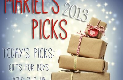 gift ideas for boys, ages 7 and up