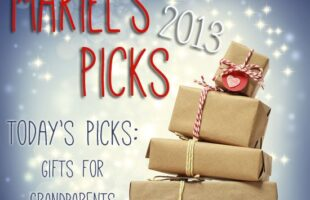 Gifts for Grandparents ~ Mariel's Picks 2013 www.oneshetwoshe.com