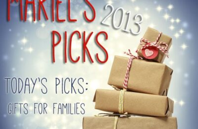 Gifts for Families ~ Mariel's Picks 2013 www.oneshetwoshe.com