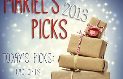Gag Gifts ~ Mariel's Picks 2013 www.oneshetwoshe.com