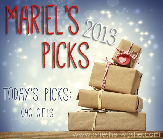 Gag Gift Ideas for White Elephant Parties ~ Mariel\'s Picks 2013 - Or ...