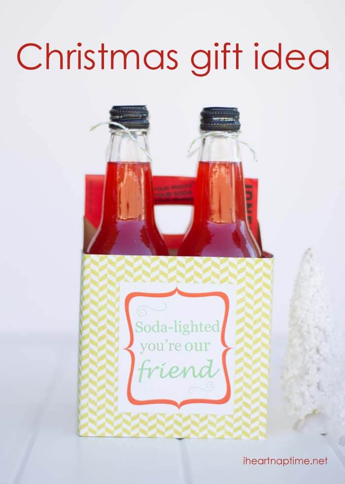 Soda Gift Idea ~ Gift Idea for Neighbors