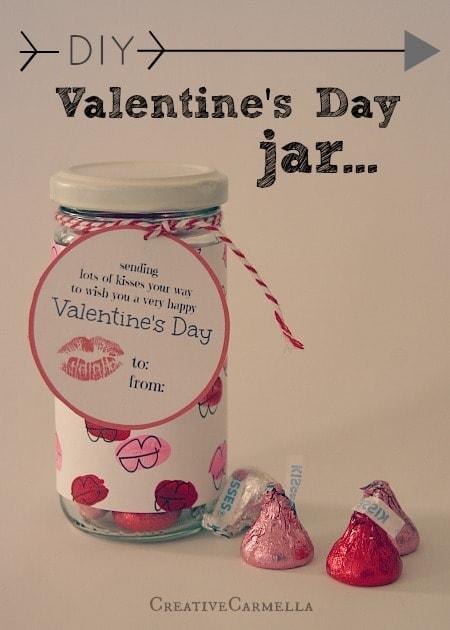 valentine in a jar