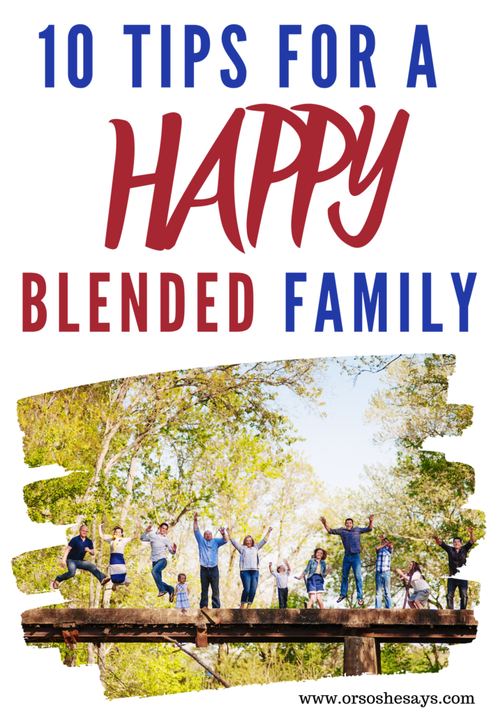 blended family tips
