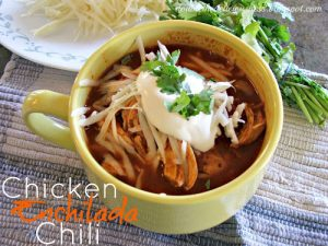 Chicken Enchildada Chili