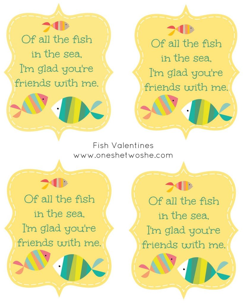 Valentine fish quotes for All the fish