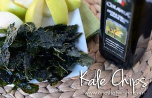 Kale Chips ~ Healthy Snack that Kids Love!