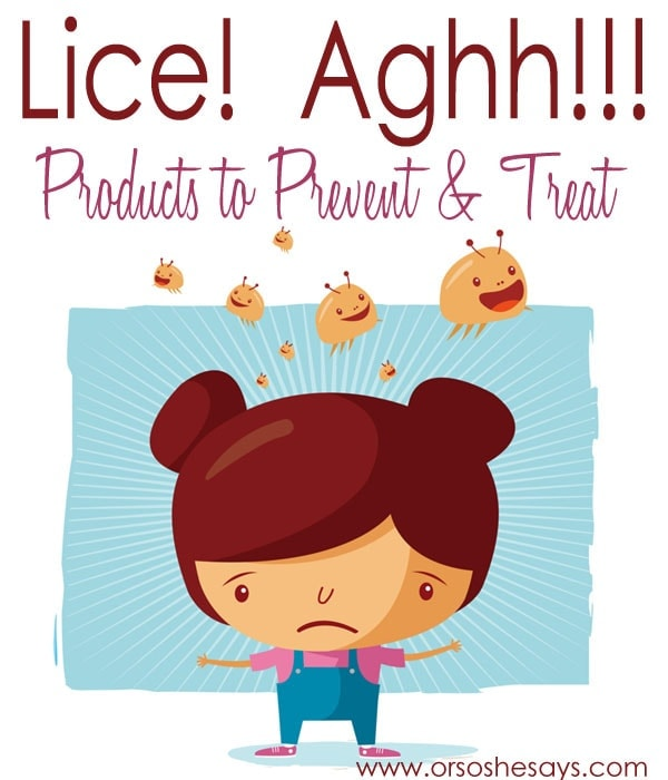 Products to prevent and treat lice
