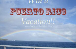 Puerto Rico Vacation ~ Win a trip! www.oneshetwoshe.com