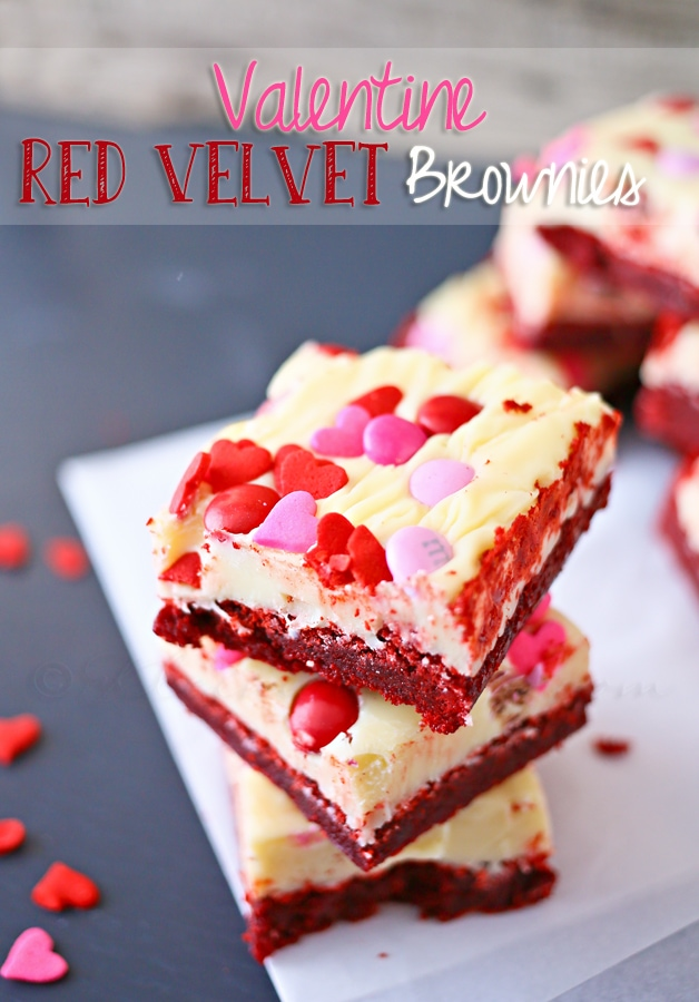 Red Velvet Brownies from kleinworthco.com