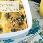 Southwestern Breakfast Bake ~ Easy and hearty breakfast! www.oneshetwoshe.com