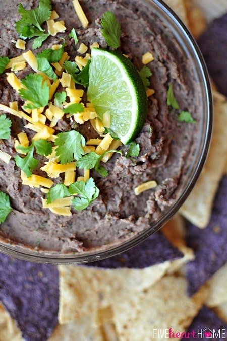 Zesty Black Bean Dip is an appetizer or snack that's light in calories yet robust in flavor and can be enjoyed year round. It would be equally embraced on Super Bowl Sunday, Cinco de Mayo, any old ordinary day, or a special occasion. www.orsoshesays.com #zestyblackbeandip #zestyblackbean #zestydip #blackbeandip #blackbeans #beans #zestydiprecipe #zestyrecipe #beanrecipe #diprecipe #recipe #familyrecipe #familyblogger #ldsblogger #mormonblogger #lds #mormon #blogger #yum
