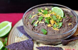 Zesty Black Bean Dip – A Dip Recipe with a Little Kick!