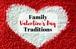 Family Valentine's Day tradition on orsoshesays.com #familyvalentinesday #valentinesday #familynight #familyfun #valentine #printable