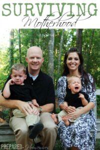 Surviving Motherhood: 12 Ways to Make it Through Alive! (she: Jamie)