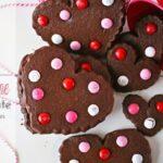 Valentine Chocolate Sugar Cookies (she: Gina)