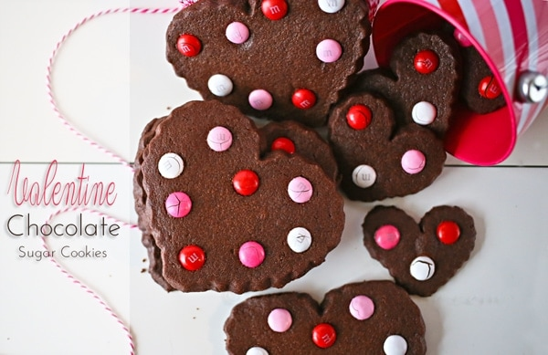 valentine s treats on chocolate valentine cutout chocolate valentine s ...